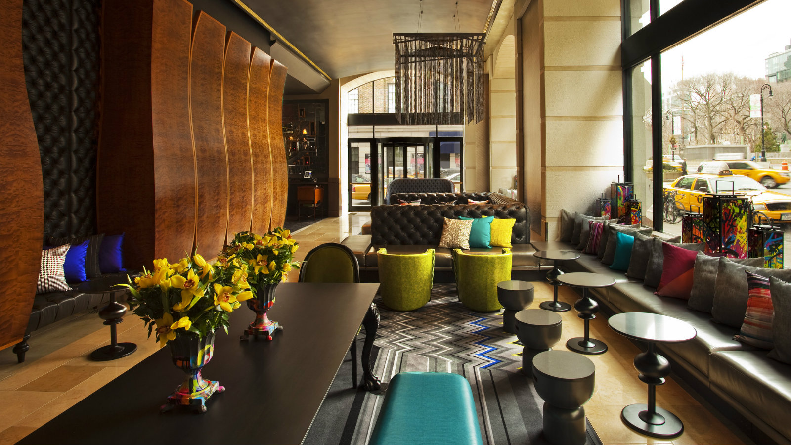 Wnewyork unionsquare thelivingroom abco peerless - The living room at the w union square ...